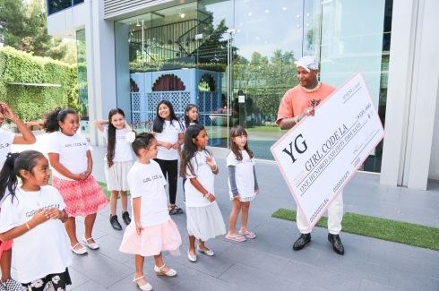 YG donates $1.5K to GirlCodeLA