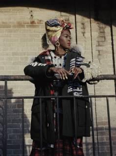 Lauryn Hill for Woolrich